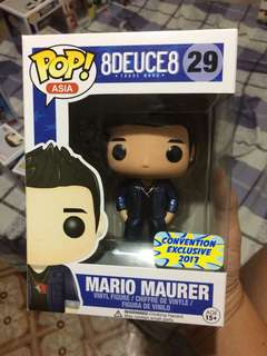 Funko Pop Mario Maurer Metallic Convention Exclusive 2017