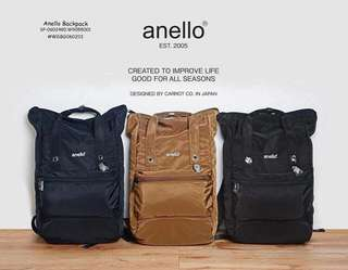 ANELLO BACKPACK Size: 17 Inches  Price : 700