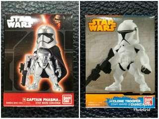 Captain Phasma & Clone Trooper CONVERGE SET