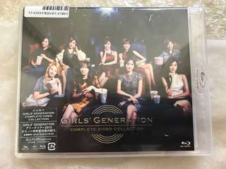 Girls Generation <COMPLETE VIDEO COLLECTION> Blu-Ray Disc