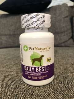 Pet Naturals - Multi Vitamin with Digestive Enzymes & Antioxidants