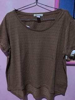 FOREVER21 tee brown