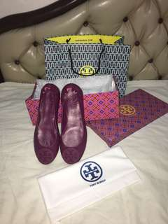 Po by my cust tory burch flat shoes marron