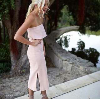 C/MEO Love Like This Dress in Blush