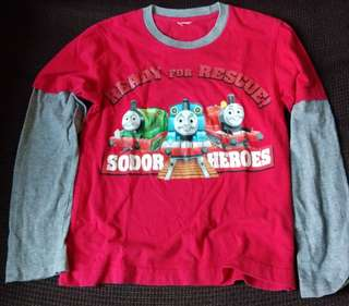 Thomas and friends - long sleeve t-short