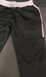 Bo' Black & Gray Jogging Pants