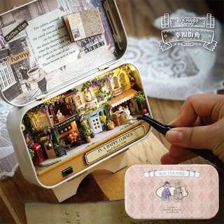 Gift DIY Musical Box Music Box Theatre