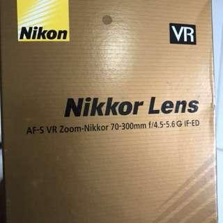 Nikon Nikkor 70-300 mm VR