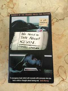 Novel WE NEED TO TALK ABOUT KEVIN by LIONEL SHRIVER