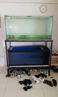 Both Fish Tank and pump for $250