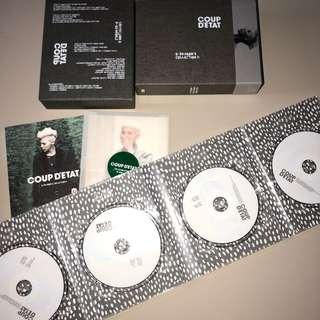 BIGBANG GD COUP D'ETAT DVD SET