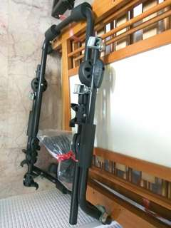 Bicycle car rack