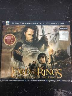 Lord Of The Ring Series - Original VCD