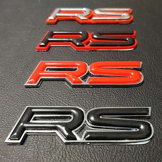 Honda Car Emblem Logo RS