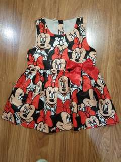 Dress Minnie Anak