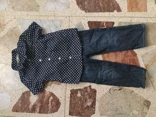 💙 H&M, Baby Gap terno