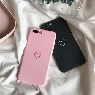 Love Heart apple iphone cases