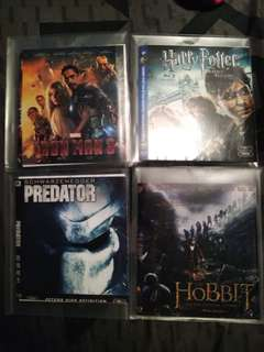 $5 each. Used Blu-ray discs