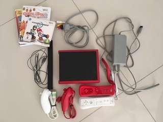 Nintendo Wii Mini Red (EU Version)