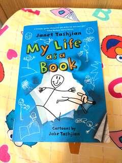 ‼️9成新‼️英文故事 my life as a book