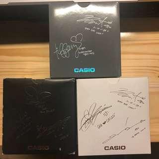 Casio babyg 少女時代簽名錶盒