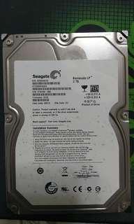 🚚 故障 2T 希捷 3.5吋 DATA 硬碟 非 WD HGST