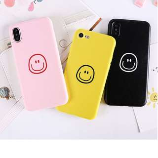 Happy smile apple iphone cases