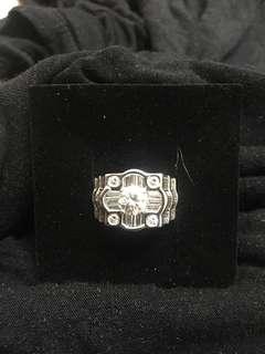 🚚 1.01克拉豪華鑽石戒指配鑽2.5克拉D