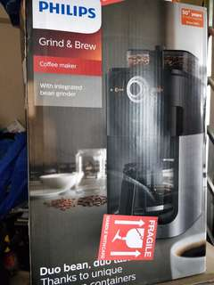 BNIB Philips Grind and Brew Coffee Maker