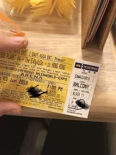 EXO門票