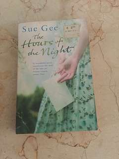 Novel THE HOURS OF THE NIGHT by SUE GEE