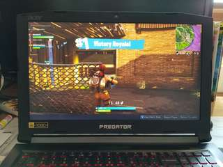 Gaming Laptop Acer Helios 300 i7 3 years HK Warranty
