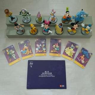 【興趣收藏】迪士尼100周年紀念票 (全套)
