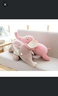 Elephant Plushie Plush Soft Toy