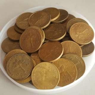 (RM30/pcs) Malaysia Coin RM1