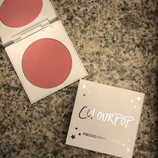 "(PROMO) Colourpop Blush ""Glass Slipper"""