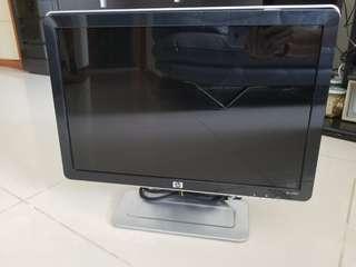 HP 19-inch LED monitor