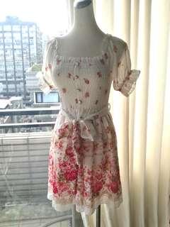 🚚 日本 Liz Lisa雪紡洋裝