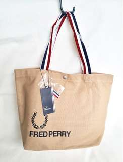 Fred Perry Tote Bag