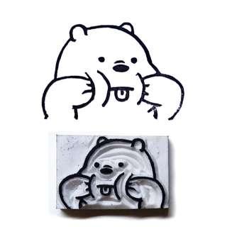 Ice Bear We Bare Bears Stamp