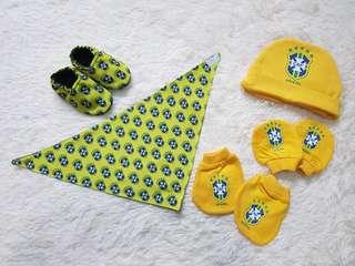 🚚 Brazil WC 2018 Newborn Accessories Set