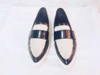Korean Platform Loafers