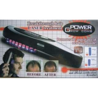 POWER GROW COMB電動按摩雷射生髮梳