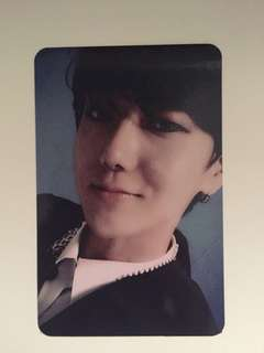 Super junior devil 藝聲小卡 yesung