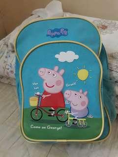 Peppa pig backpack bag