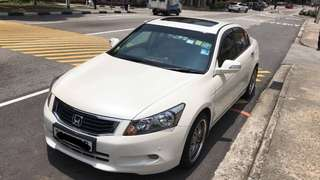 Honda Accord 3.5A V6 Engine with sunroof