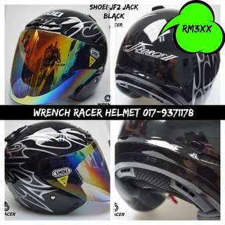 Shoei J-Force II Jack [Black] - Clear Visor