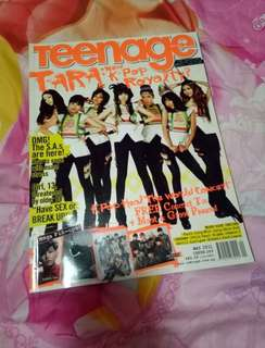 Teenage Kpop Magazine T-ARA Singapore