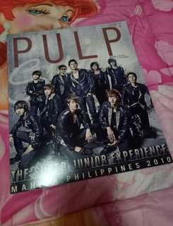 Pulp Magazine Super Junior Super Show