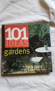 101 Ideas: Gardens (garden design book)